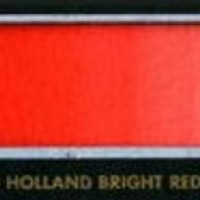 D151 Old Holland Bright Red/Κόκκινο Φωτεινό - 1/2 πλάκα